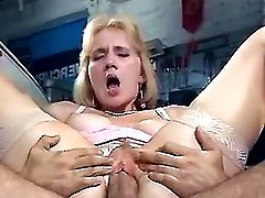 Lewd milf gets big cock in her cunt