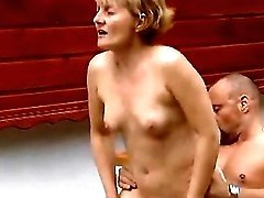 Aged lady jumps on cock