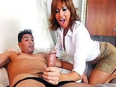 Tara Holiday Handjob