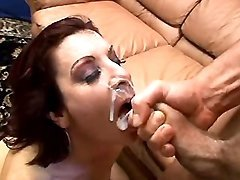 Mature gets fuck and lavish facial